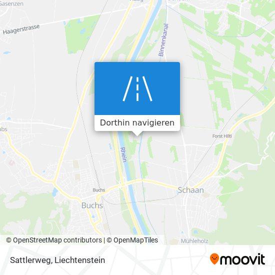 Sattlerweg Karte