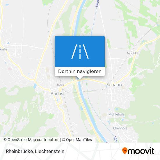 Rheinbrücke Karte