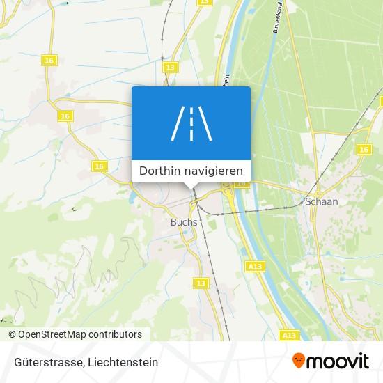 Güterstrasse Karte