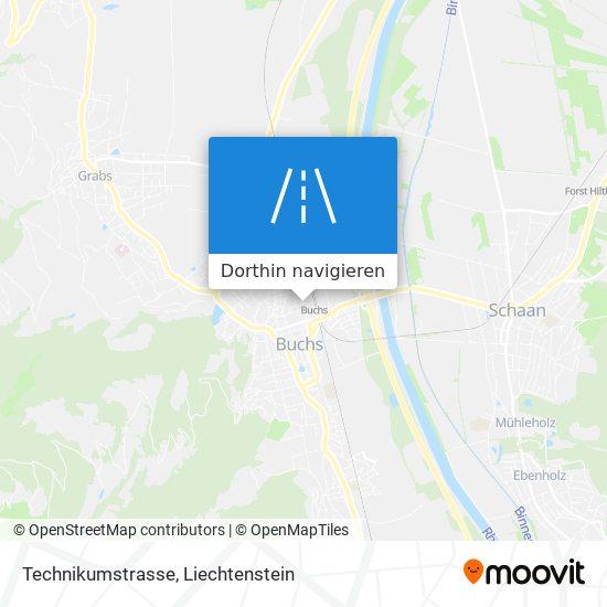 Technikumstrasse Karte