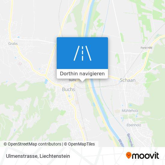 Ulmenstrasse Karte