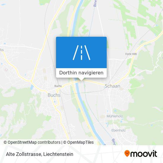 Alte Zollstrasse Karte