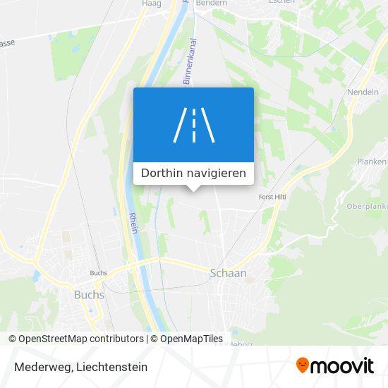 Mederweg Karte