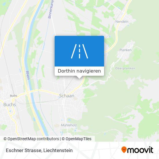 Eschner Strasse Karte