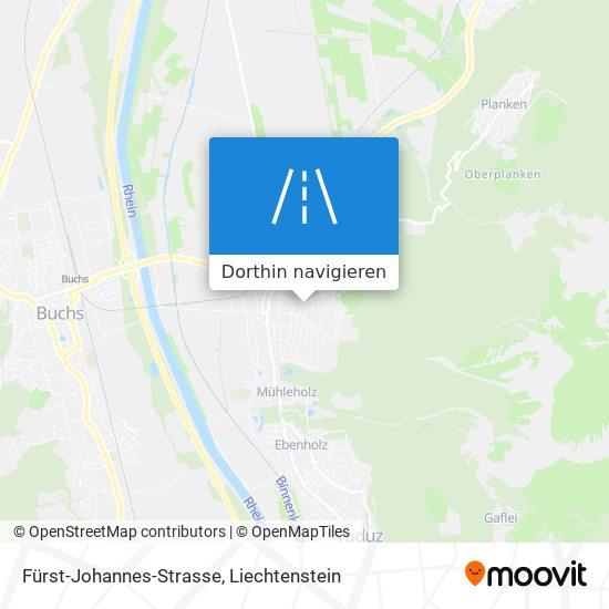 Fürst-Johannes-Strasse Karte