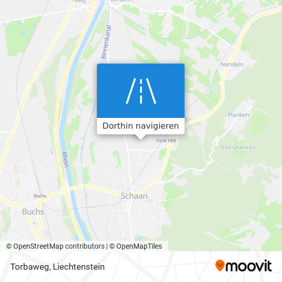 Torbaweg Karte