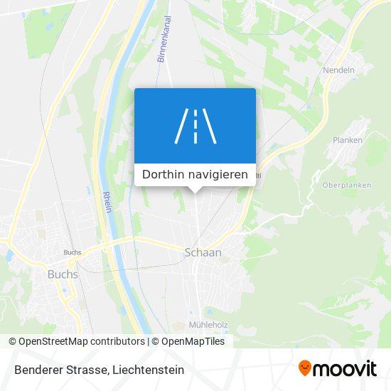 Benderer Strasse Karte