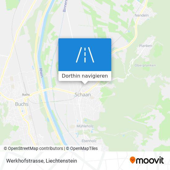 Werkhofstrasse Karte