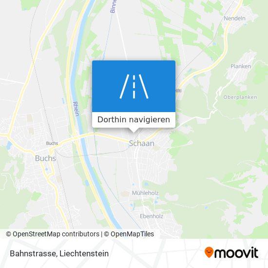 Bahnstrasse Karte