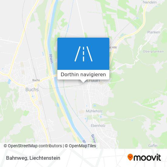 Bahnweg Karte
