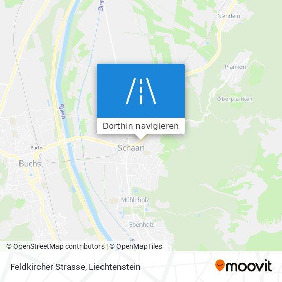 Feldkircher Strasse Karte