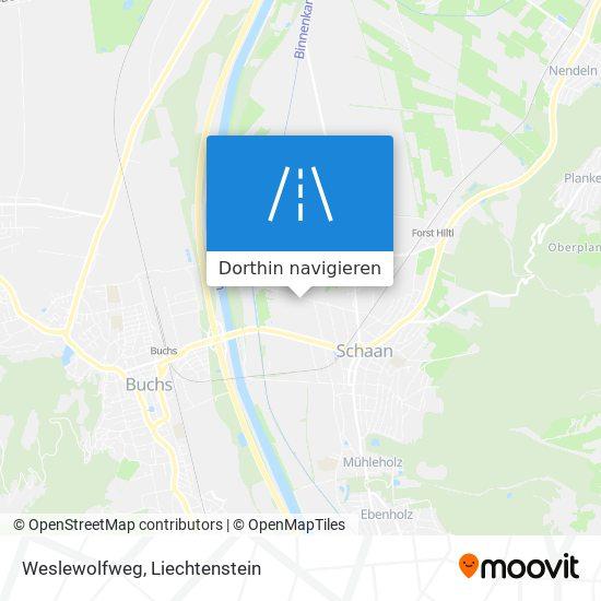 Weslewolfweg Karte