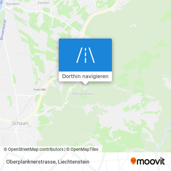 Oberplanknerstrasse Karte