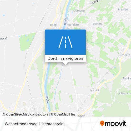 Wassermederweg Karte