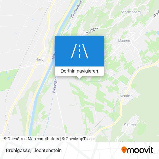 Brühlgasse Karte
