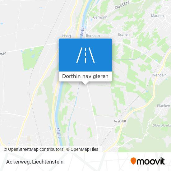 Ackerweg Karte