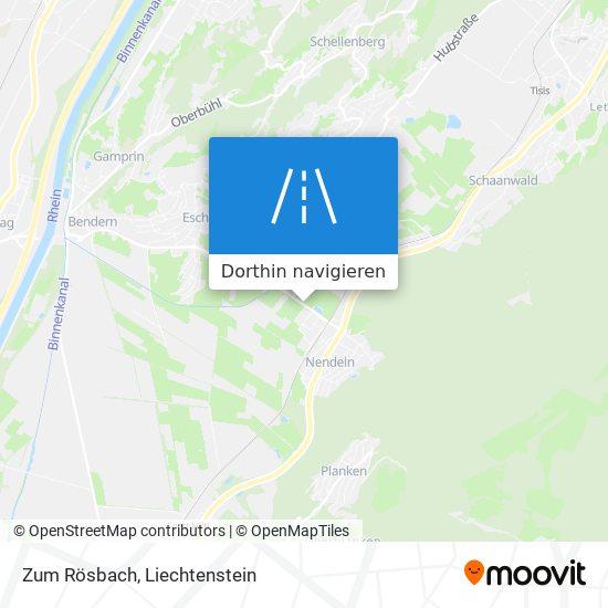 Zum Rösbach Karte
