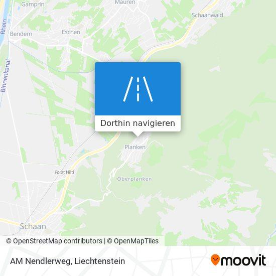 AM Nendlerweg Karte