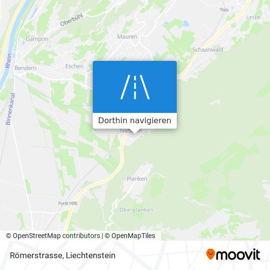 Römerstrasse Karte