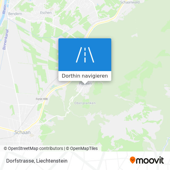 Dorfstrasse Karte