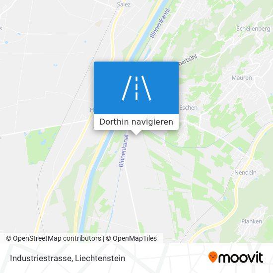 Industriestrasse Karte