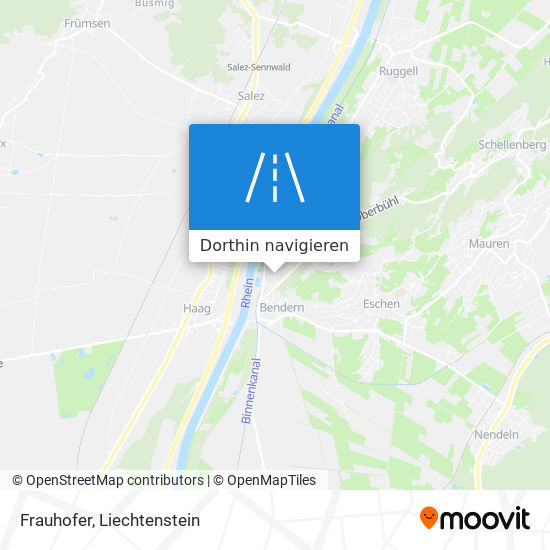 Frauhofer Karte
