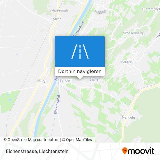 Eichenstrasse Karte