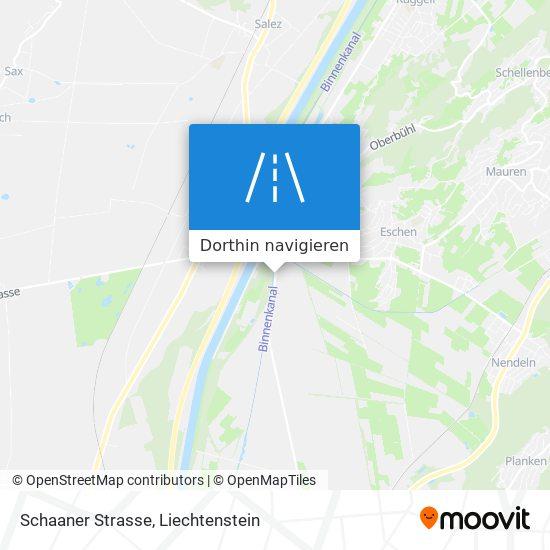 Schaaner Strasse Karte