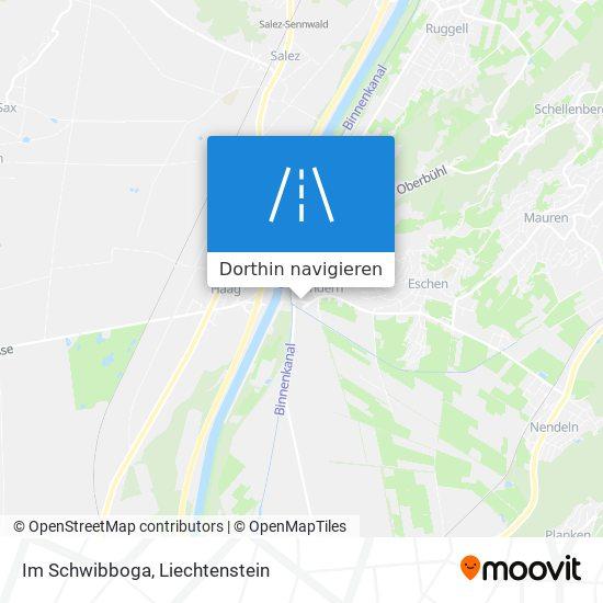 Im Schwibboga Karte