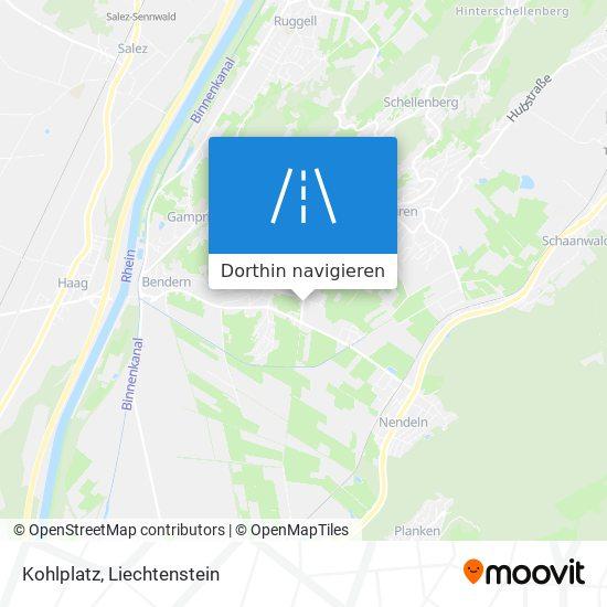 Kohlplatz Karte