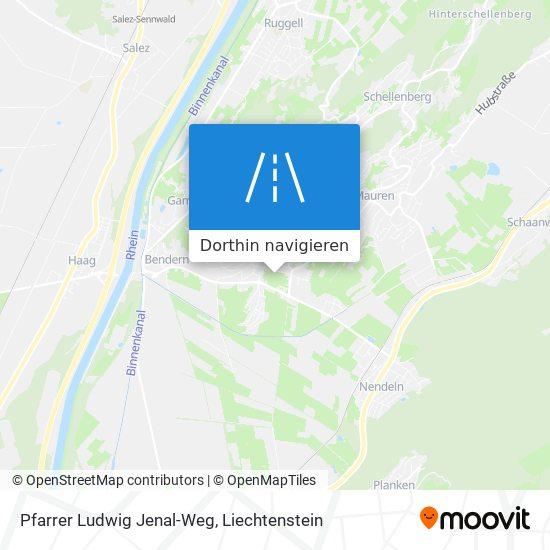 Pfarrer Ludwig Jenal-Weg Karte