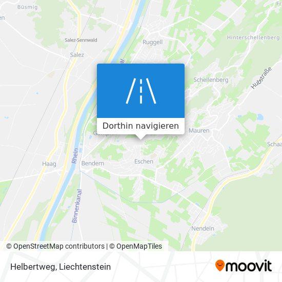 Helbertweg Karte