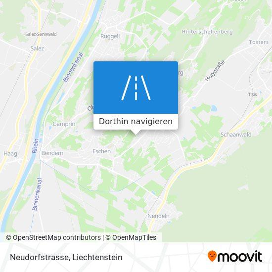 Neudorfstrasse Karte