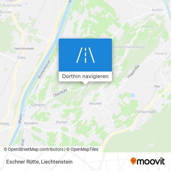 Eschner Rütte Karte