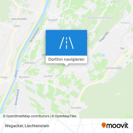 Wegacker Karte