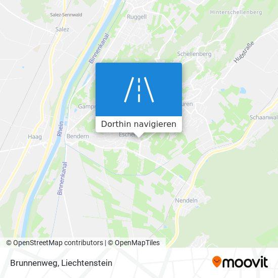 Brunnenweg Karte