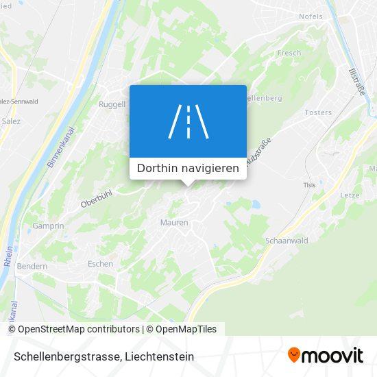 Schellenbergstrasse Karte