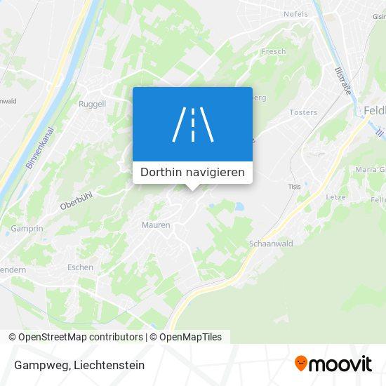 Gampweg Karte