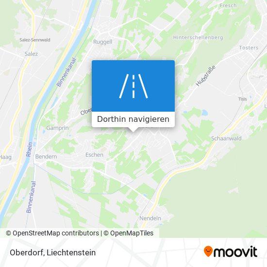 Oberdorf Karte