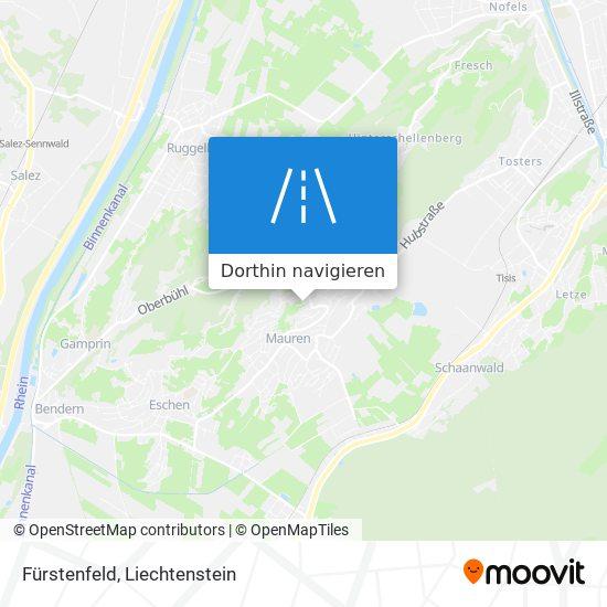 Fürstenfeld Karte