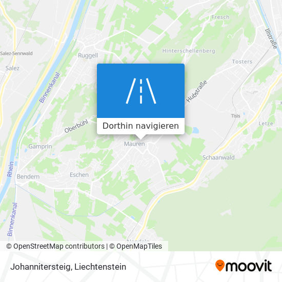 Johannitersteig Karte