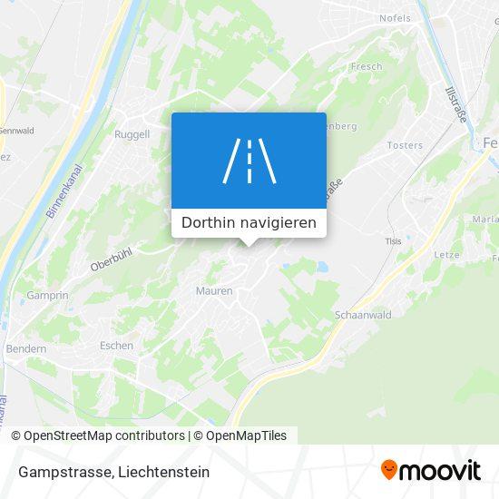 Gampstrasse Karte