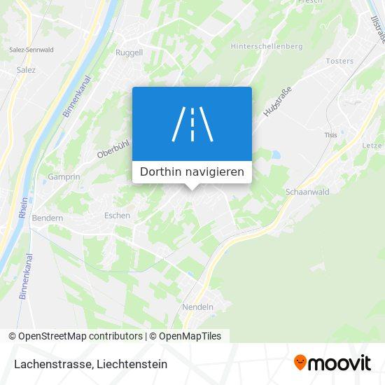 Lachenstrasse Karte