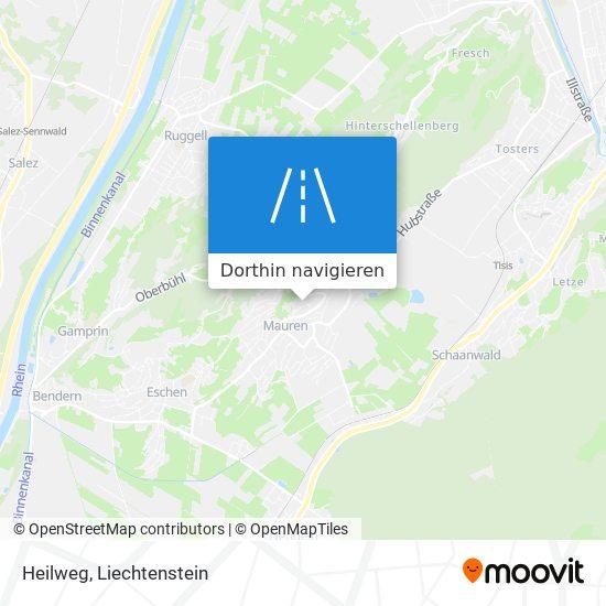 Heilweg Karte