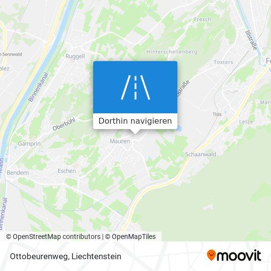Ottobeurenweg Karte