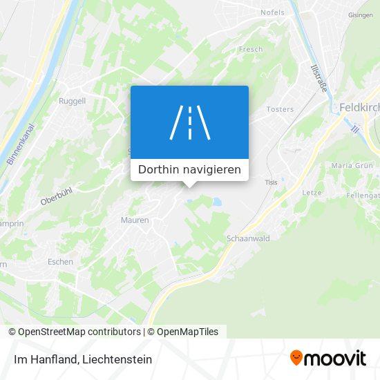 Im Hanfland Karte