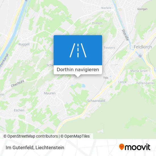 Im Gutenfeld Karte