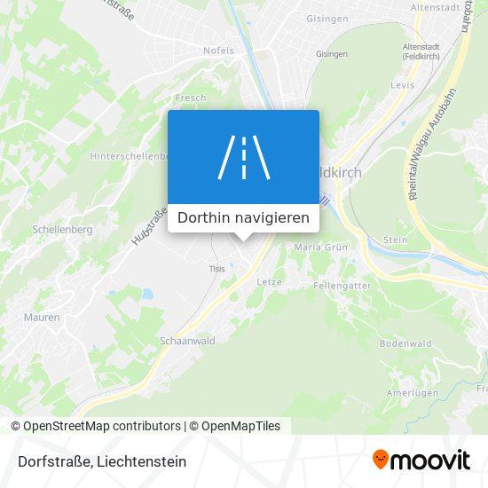 Dorfstraße Karte