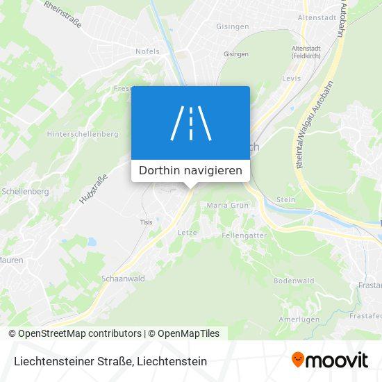 Liechtensteiner Straße Karte