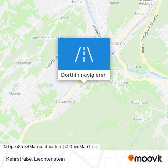 Kehrstraße Karte